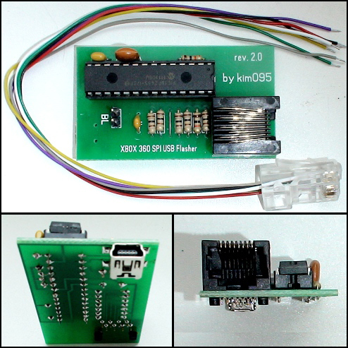 XBOX 360 SPI USB Flasher 2